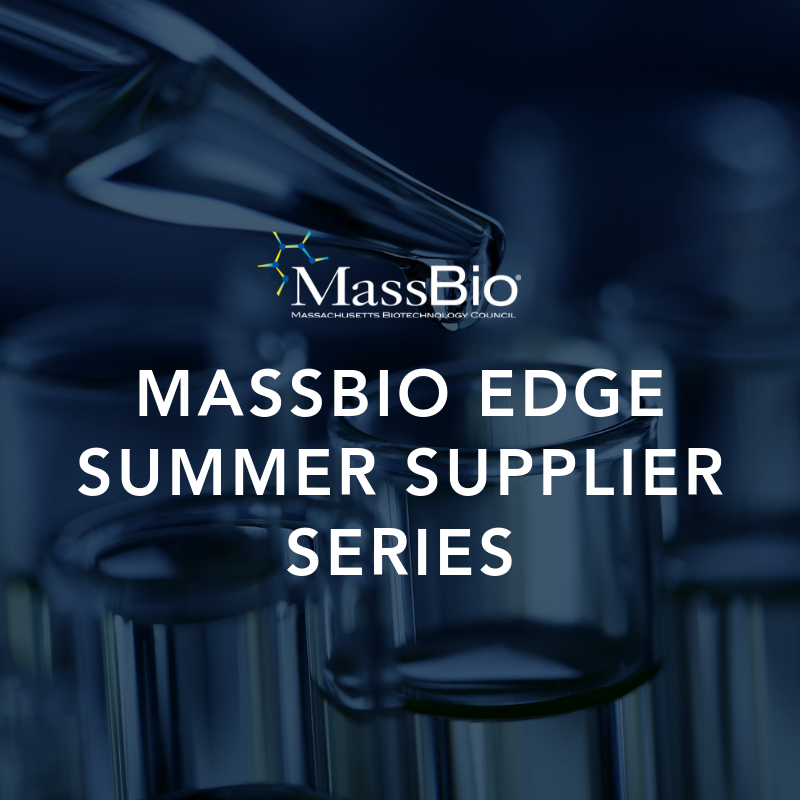 MassBio Edge Summer Supplier Series: Woburn