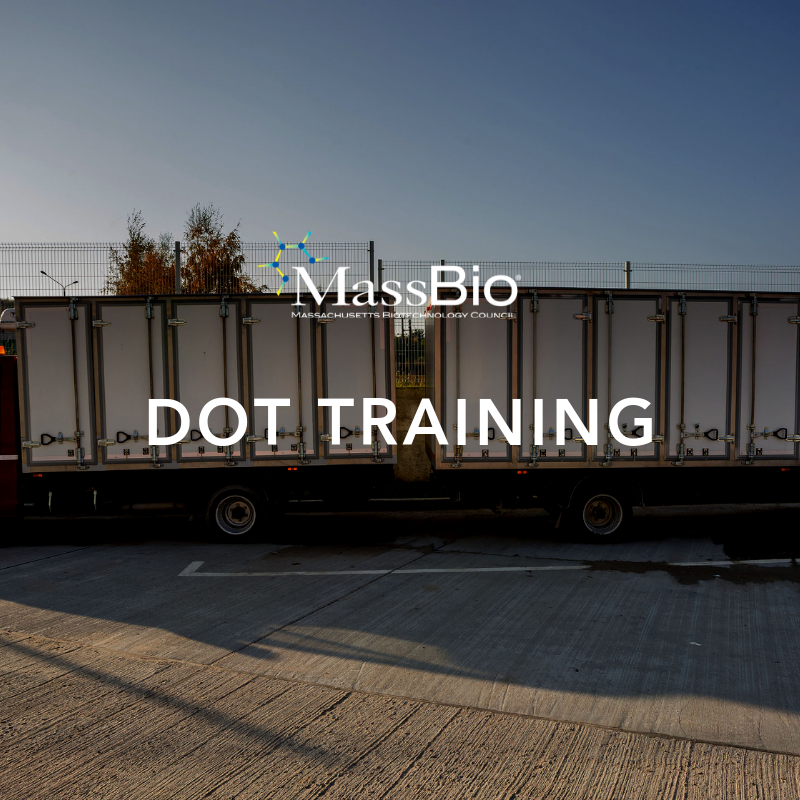 DOT Training for the Packaging & Shipment of Regulated Medical Waste