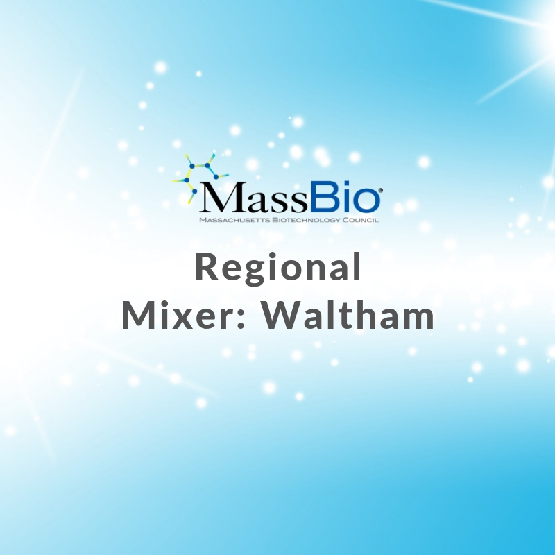 MassBio Regional Mixer: Waltham